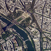 Paris aerial photos