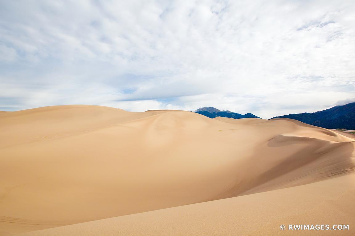 Photo Print of GREAT SAND DUNES NATIONAL PARK COLORADO Print Framed ...