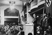Hitler speaks on anniversary of beer hall putsch