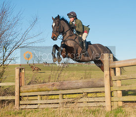 Burrough on the Hill, Leicestershire - 27/12/11. The Cottesmore Hunt's Pony Club meet at Burrough House and hunting around Somerby and Owston.