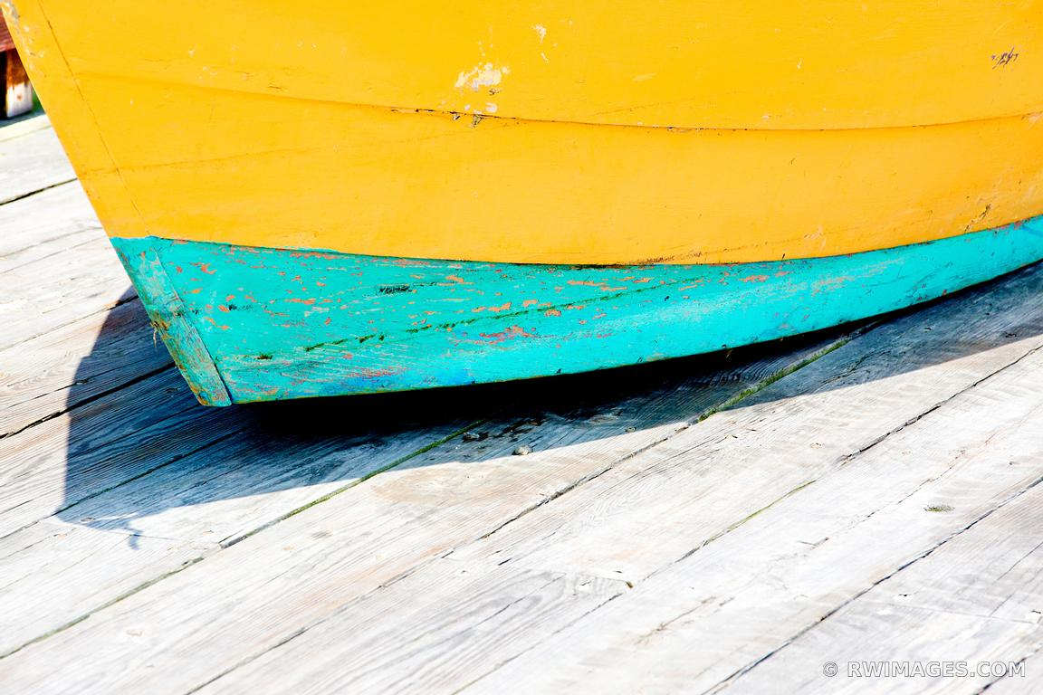 Photo Print of OLD COLORFUL FISHING BOAT GLOUCESTER CAPE ANN ...