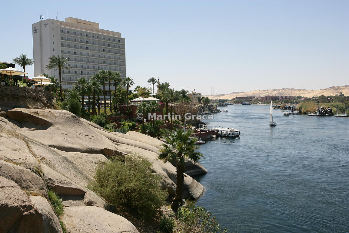 Martin Grace Photography The New Cataract Hotel And River Nile At