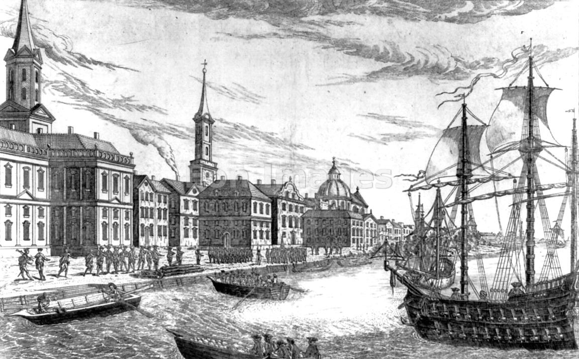 Eon Images British Troops Arrive In New York City In 1776
