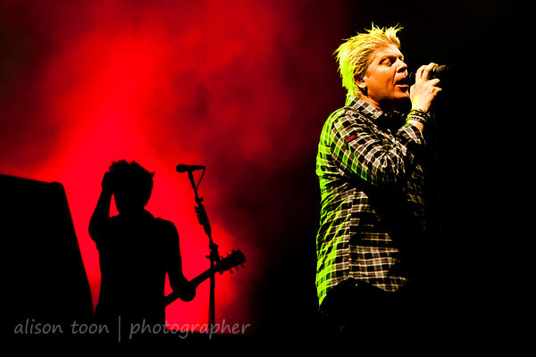 Dexter Holland, The Offspring, Aftershock 2014, Sacramento