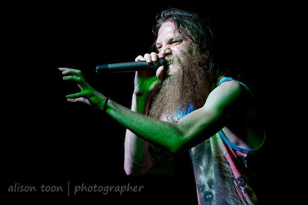 Kyle Gunther, vocals, Battlecross