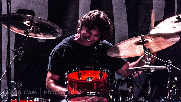 Chris Robyn, drums, Black Map