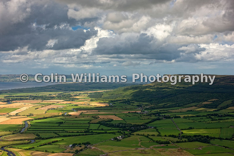 AERIAL PHOTOGRAPHS - COLIN WILLIAMS PHOTOGRAPHY | Binevenagh Mountain ... Inishowen