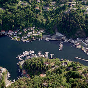 Tvedestrand aerial photos