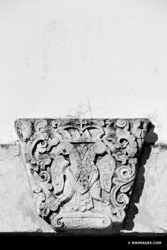 Photo Print of SPANISH GOVERNOR\'S PALACE SAN ANTONIO TEXAS BLACK AND ...