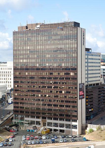 The Mclaren building, Birmingham, West Midlands, England, UK