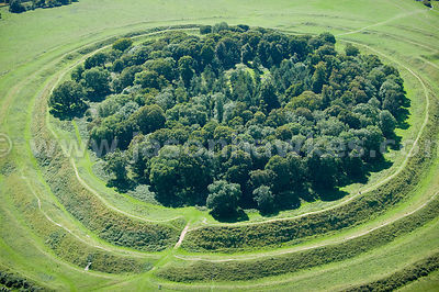 Badbury Rings , Iron Age hill fort in east Dorset..Badbury Rings , Iron Age hill fort in east Dorset.