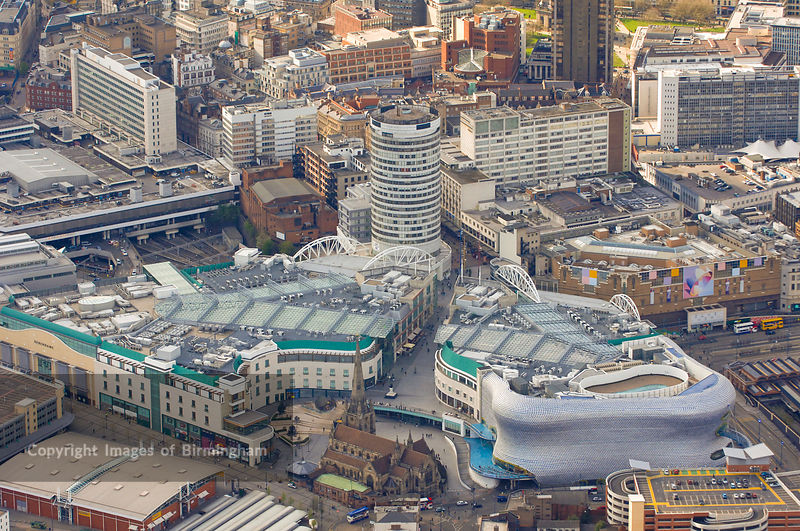 Images Of Birmingham Photo Library An Aerial View Of