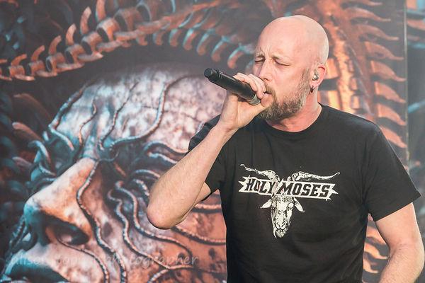 Jens Kidman, vocals, Meshuggah