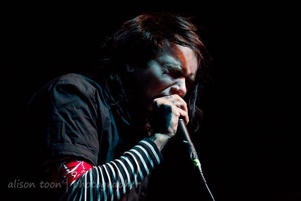 Tyler Dennen, vocals, Sworn In, Sacramento