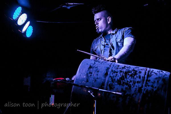 Danny Gil, vocalist, Downfall 2012, Orangevale, CA