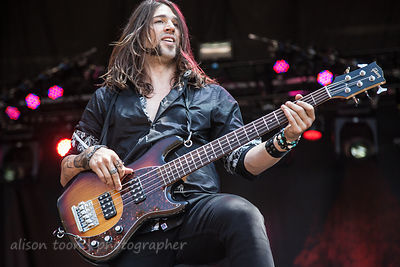 Vassilios Metropoulos of Otherwise performing at Aftershock 2014