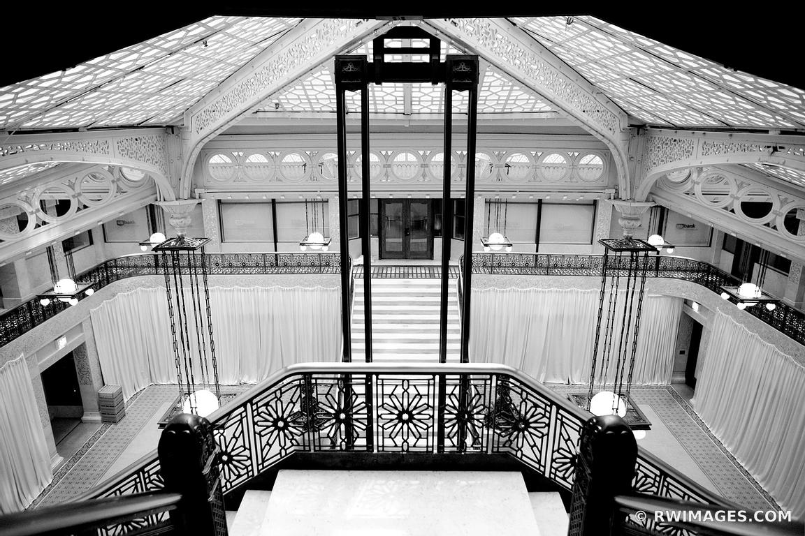 Framed Photo Canvas Metal Acrylic Print Rookery Building