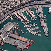Genoa aerial photos