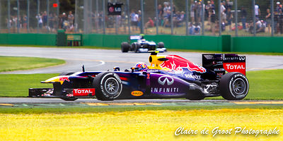 Mark Webber Melbourne F1 Grand Prix