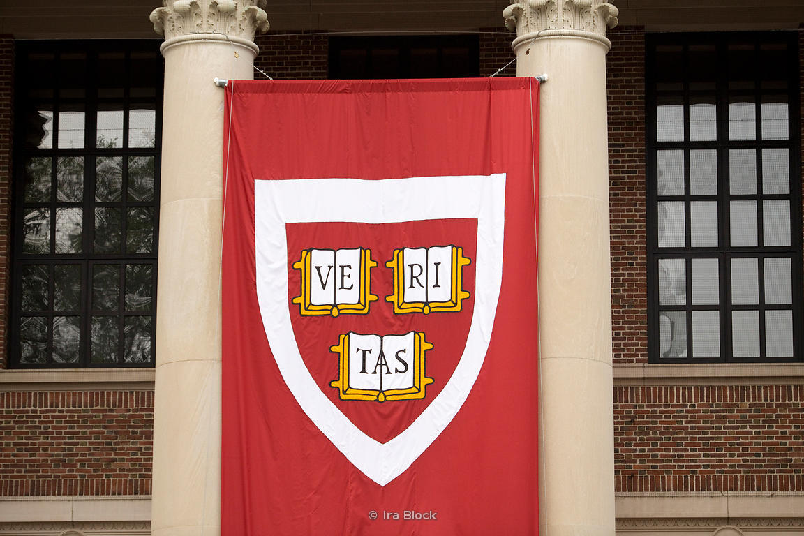 One Of The Banners On Display For Commencement Ceremonies Outside Library At