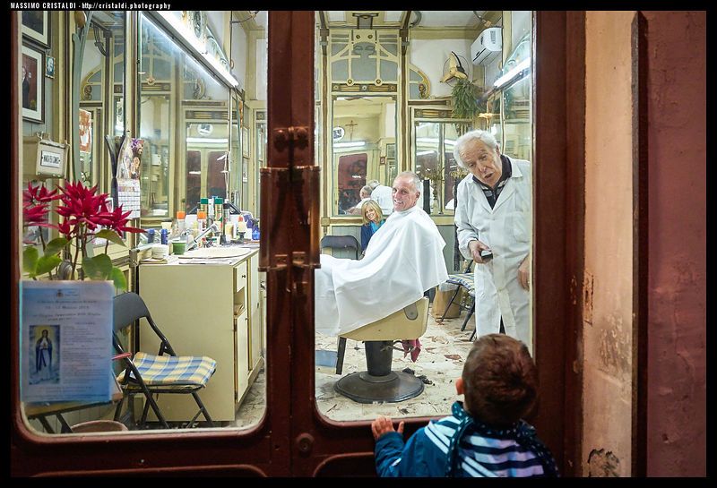 The Barber Shop, Siracusa, May 2015