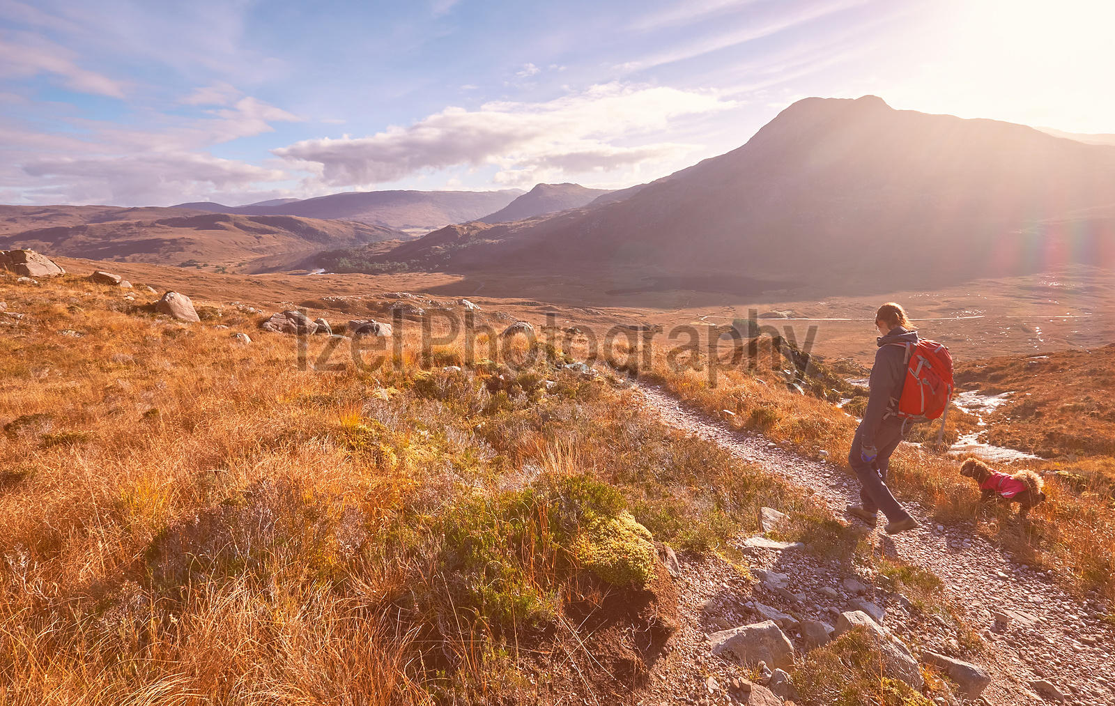 Mountain Photography, Hiking in the Scottish Highlands