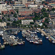 New Bedford aerial photos