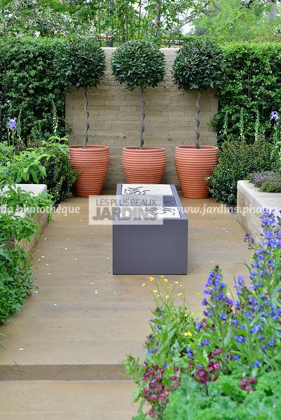 La phototh que les plus beaux jardins petit jardin for Jardin urbain contemporain