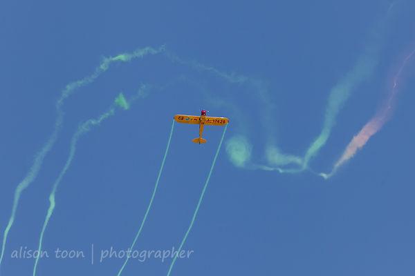 Kent Pietsch, Interstate Cadet, aerobatics