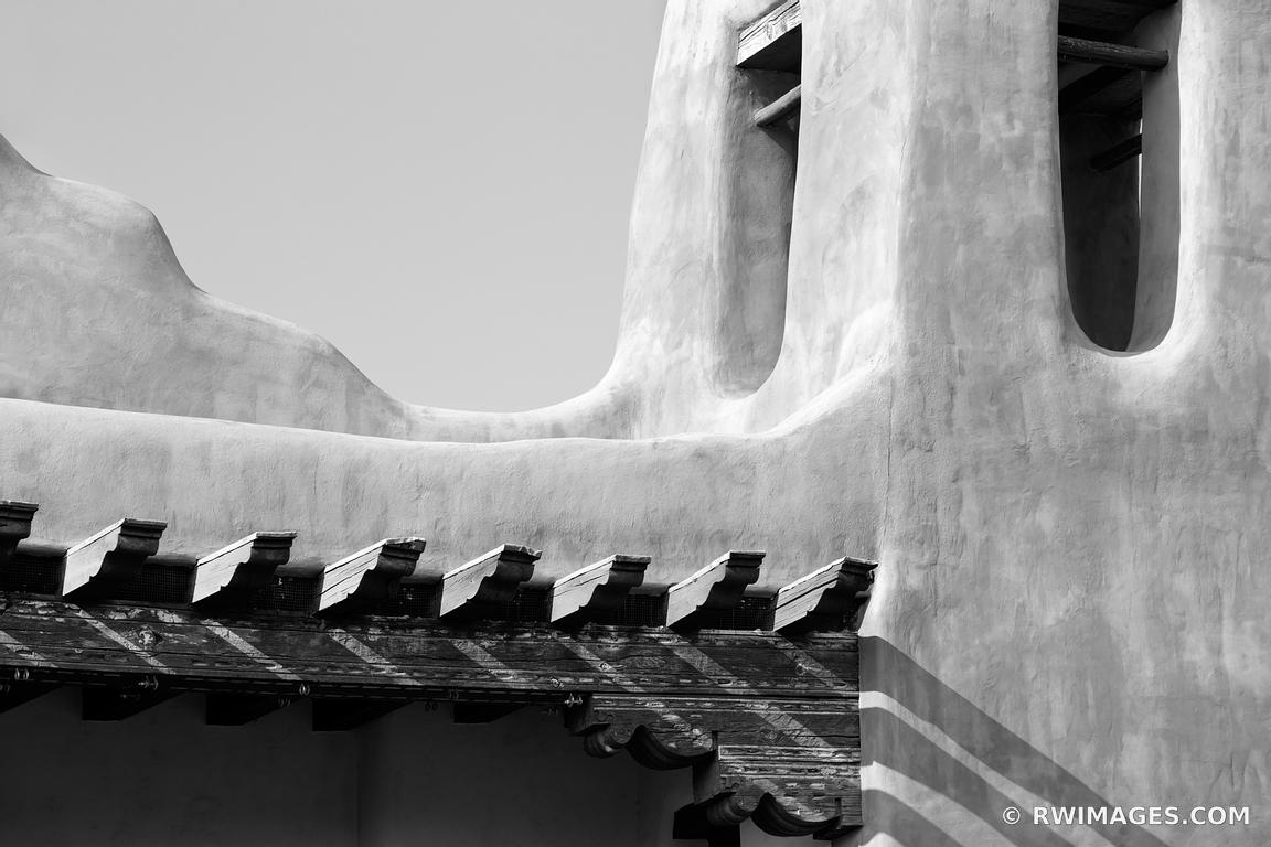 architectural detail photography. SANTA FE NEW MEXICO ADOBE BUILDING ARCHITECTURAL DETAIL BLACK AND WHITE Architectural Detail Photography