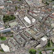 Dundee City aerial photos