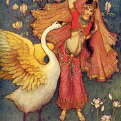 Art of Warwick Goble images