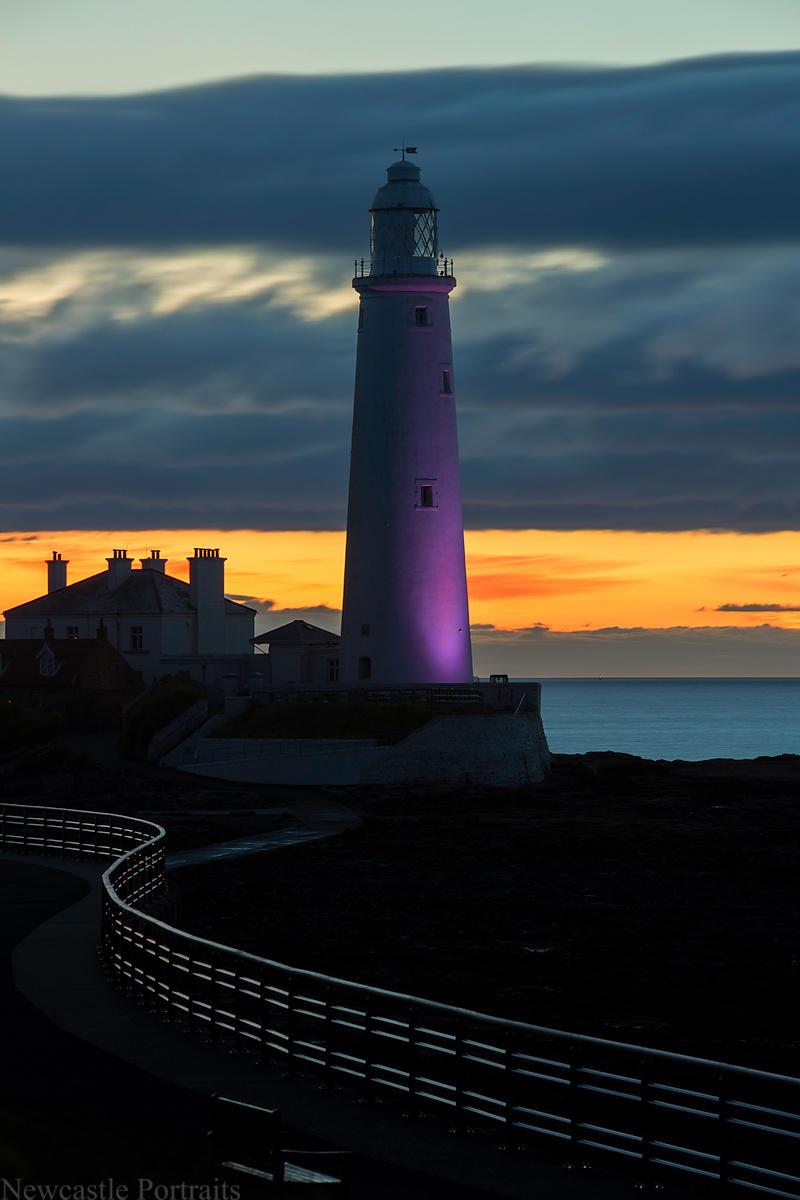 Newcastle Photos | St. Mary's Lighthouse Newcastle photos