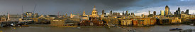 Thames with St Paul&#x27;s panorama