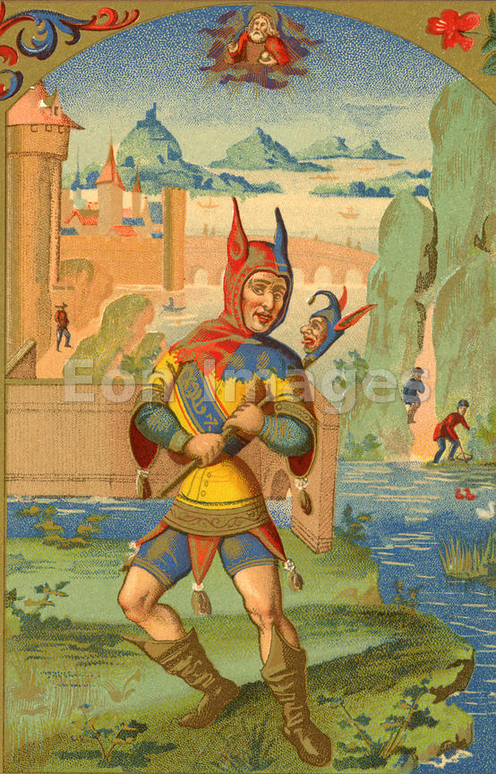 Reality Czech!: Medieval Madness  Jester Middle Ages Wear