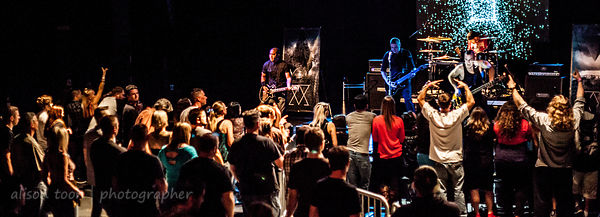 "Zeroclient release album ""Omnia"", celebration concert at the Assembly, Sacramento last night"