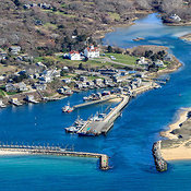 Menemsha Bight aerial photos