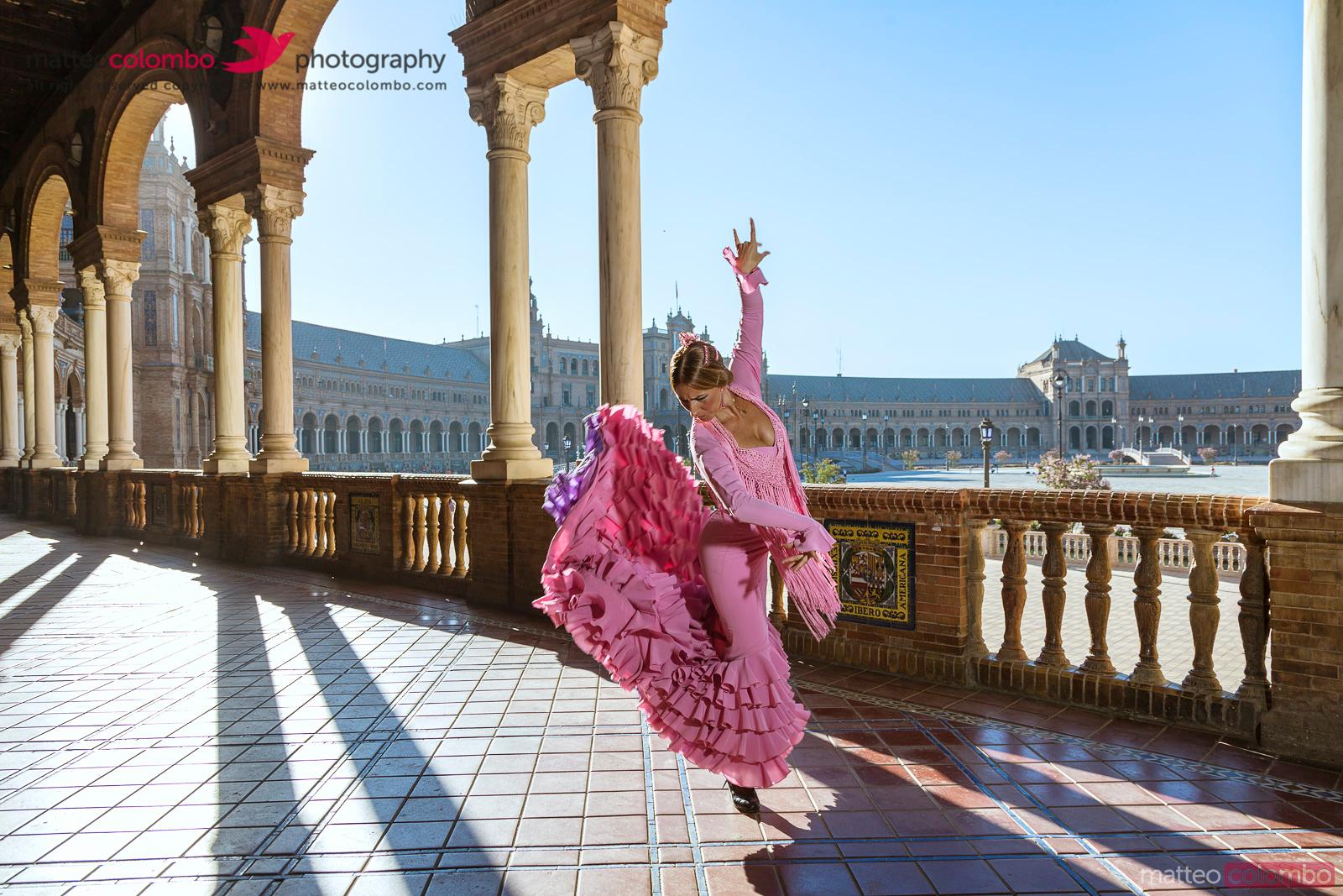 Matteo colombo travel photography flamenco dancer in for Espectaculo flamenco seville sevilla