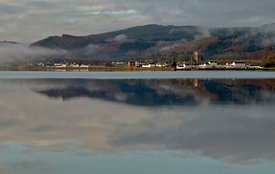 Sunrise over Inverary