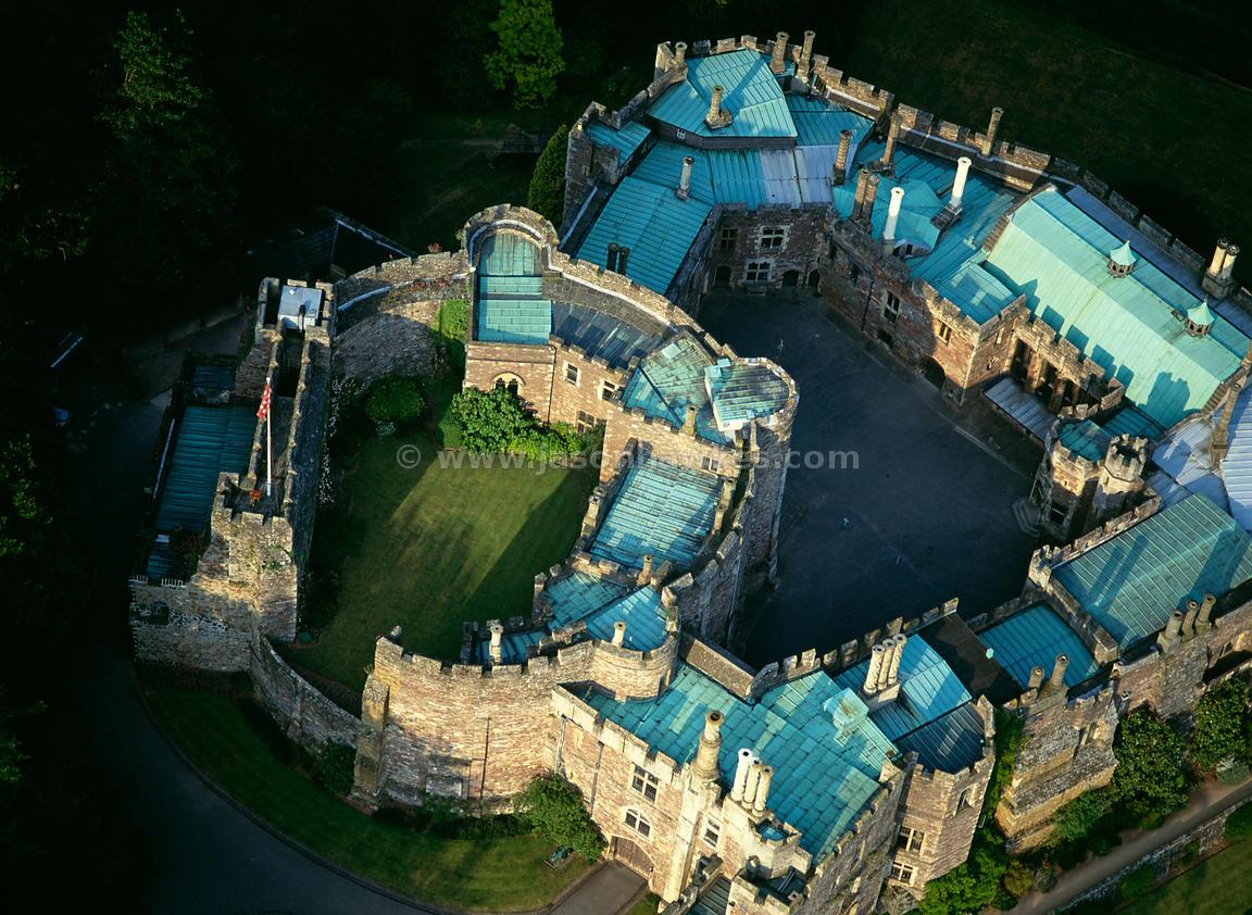 Aerial View Berkeley Castle Gloucestershire Jason Hawkes