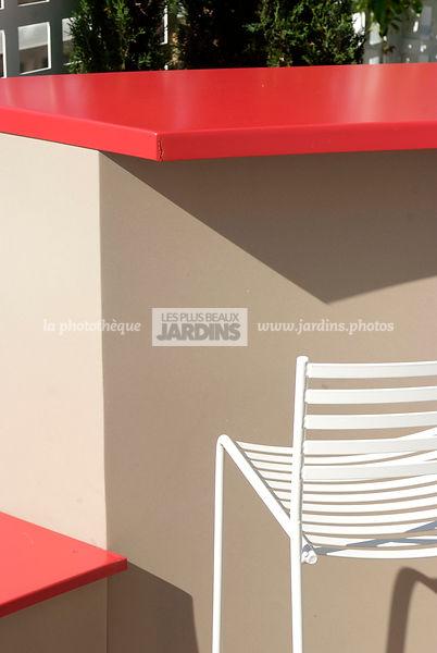 la photothèque | LES PLUS BEAUX JARDINS | Détail sur mobilier de ...