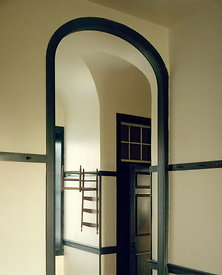 Doorway and hall