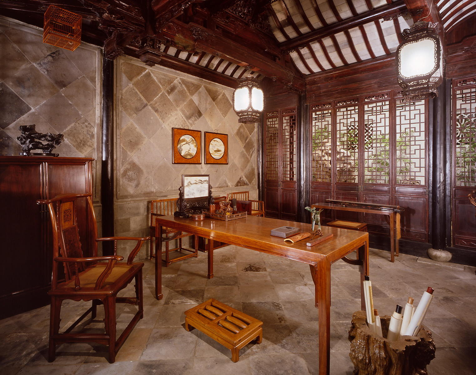 Ming scholar&#x27;s study