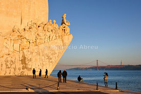 Padrão dos Descobrimentos in front of the Tagus river. Lisbon, Portugal
