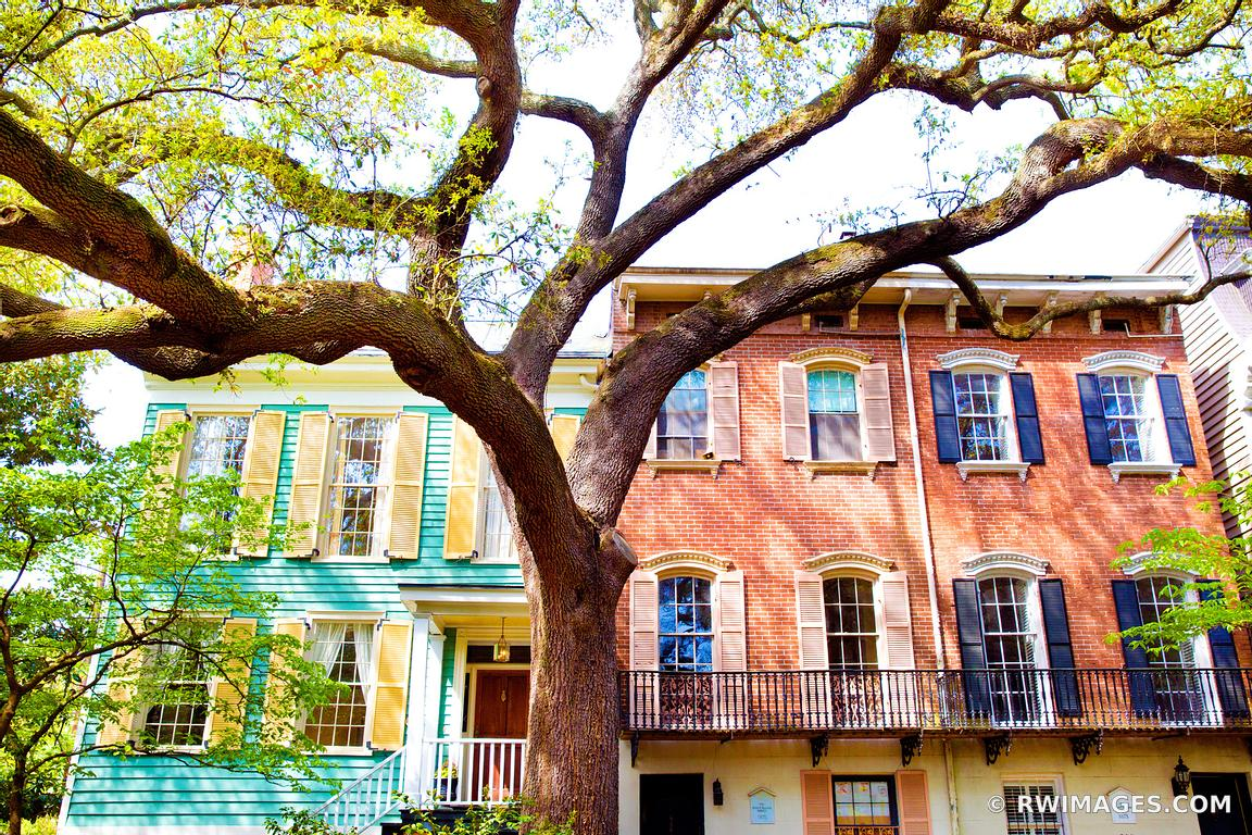 Photo print of historic savannah georgia architecture for Fine art photography sales