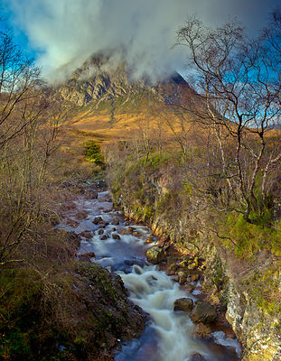 Stream below Stob Dearg