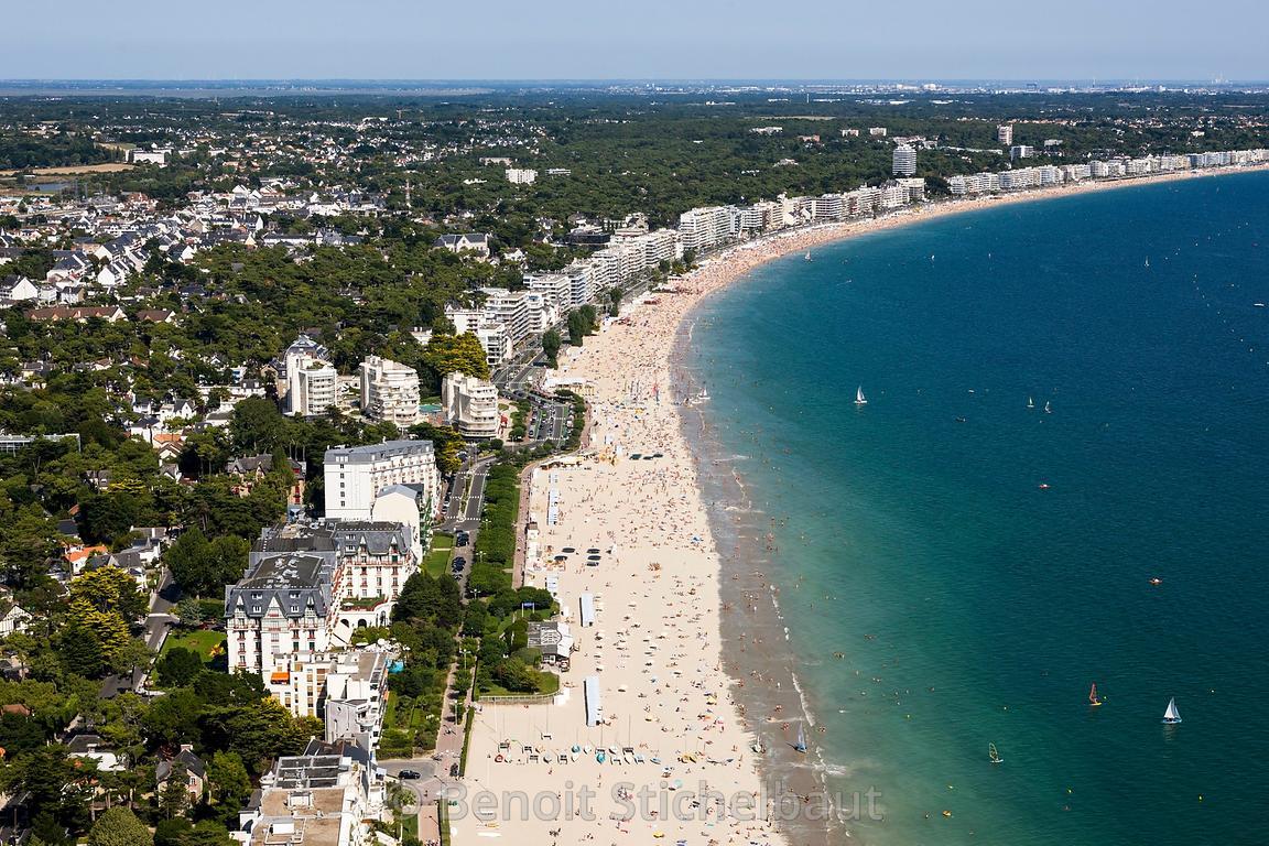 Benoit stichelbaut photographe france loire atlantique 44 baie du pouliguen la baule plage - La baule office du tourisme ...