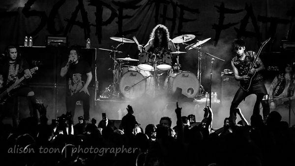 Escape The Fate live 2014