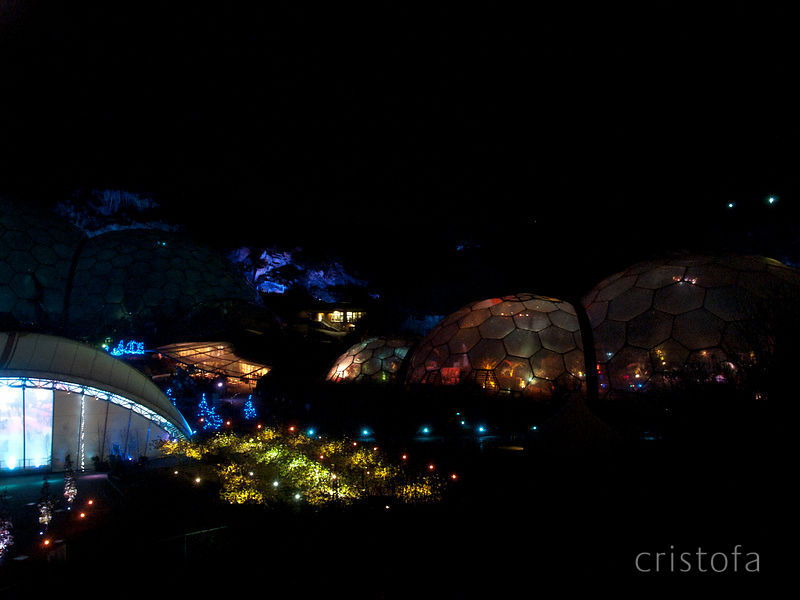 The Eden Project At Night