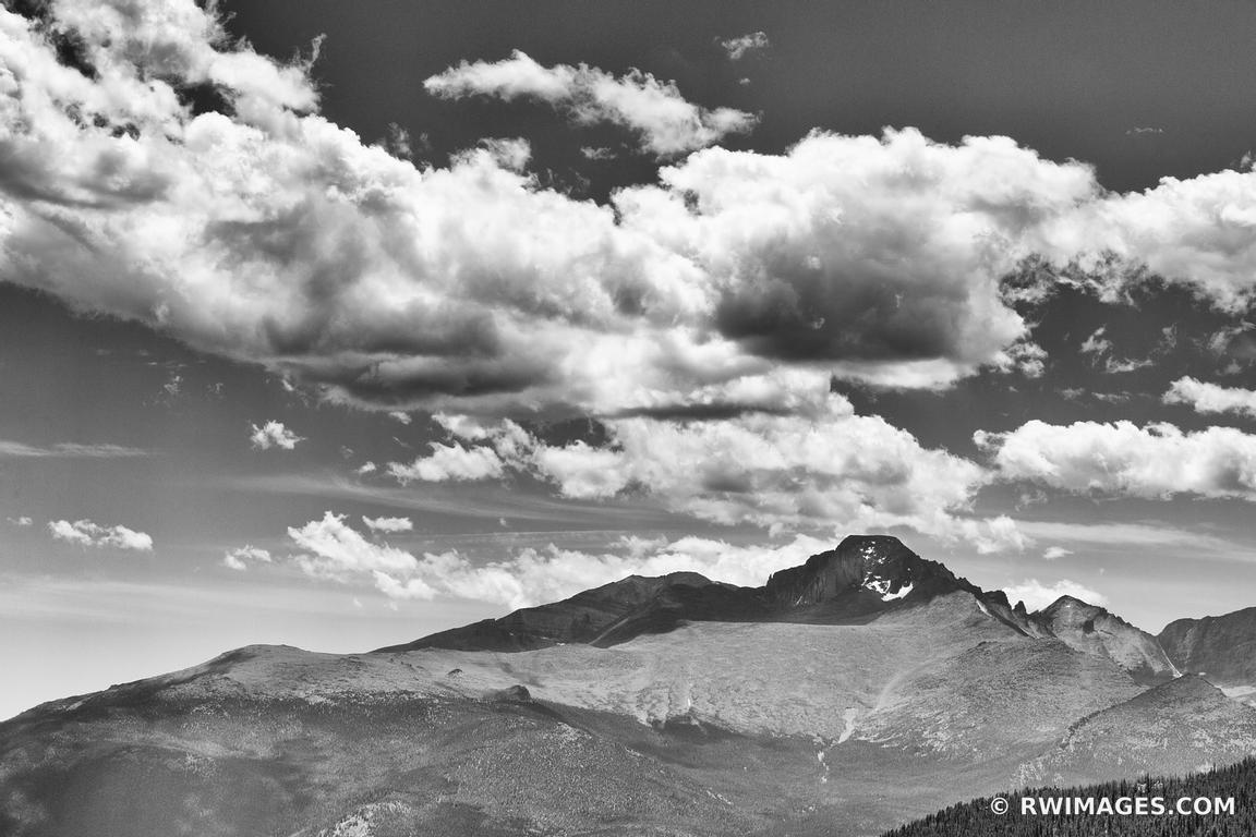 Photo print of longs peak rocky mountain national park for Buy fine art photography